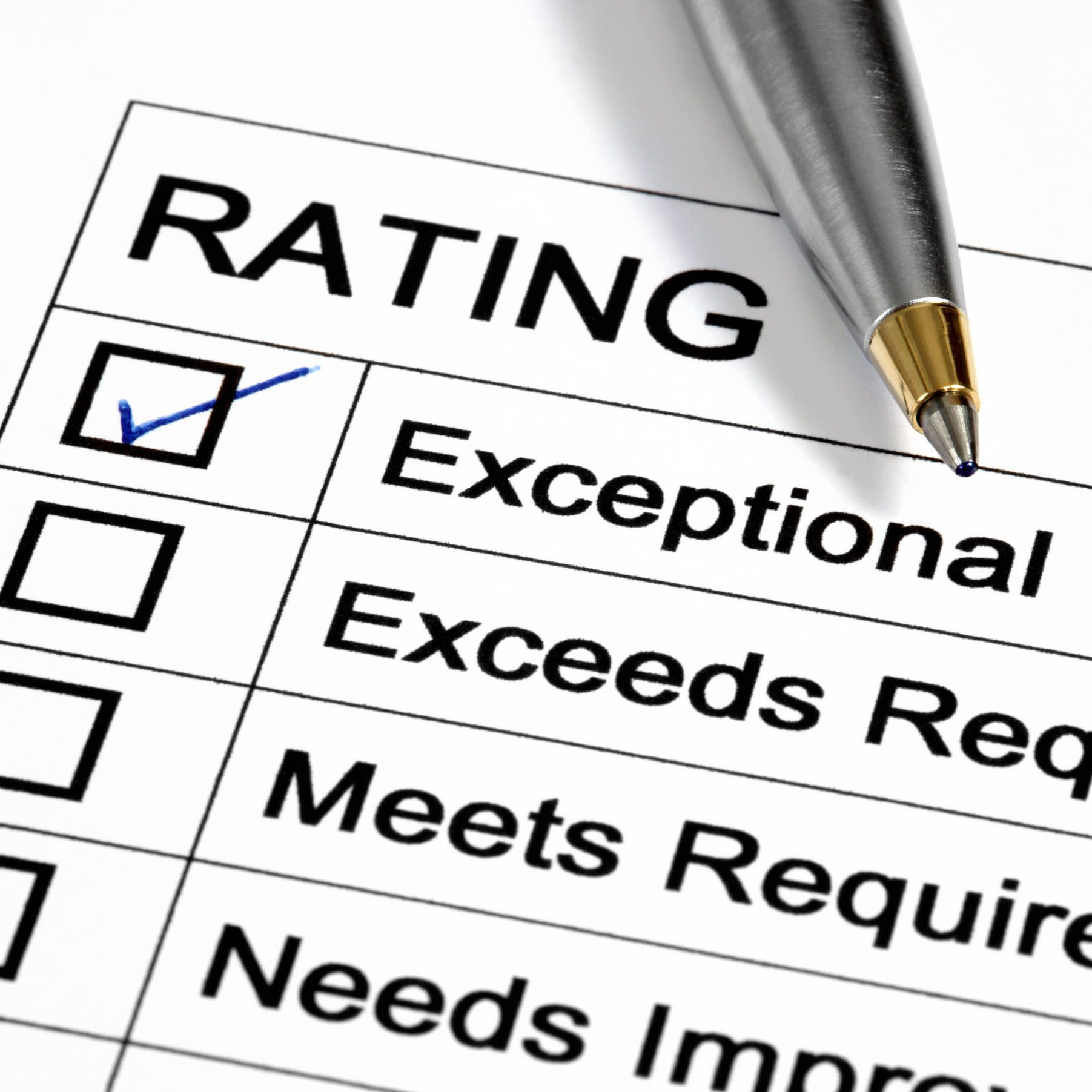 Performance Review Examples - Criteria and Phrases